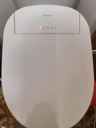 LCD Display Smart Toilet Seat with Electric Bidet photo review