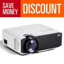 Aun mini projetor suporte 4k hd completo 1080p de cinema em casa 3d vídeo projetor portátil beamer para ao ar livre