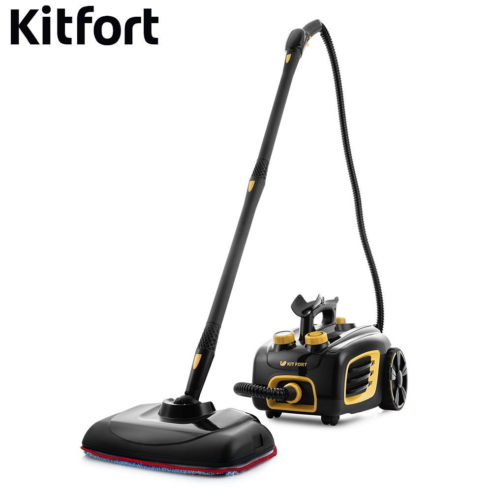 цена на Steam Cleaner Kitfort KT-932 Steam Cleaner Steam Mop Steam high pressure Steam generator for cleaning Electric steam vacuum cleaner