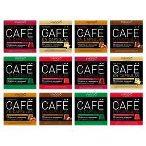 VIAGGIO ESPRESSO - 120 coffee capsules compatible with Nespresso machines (special selection)