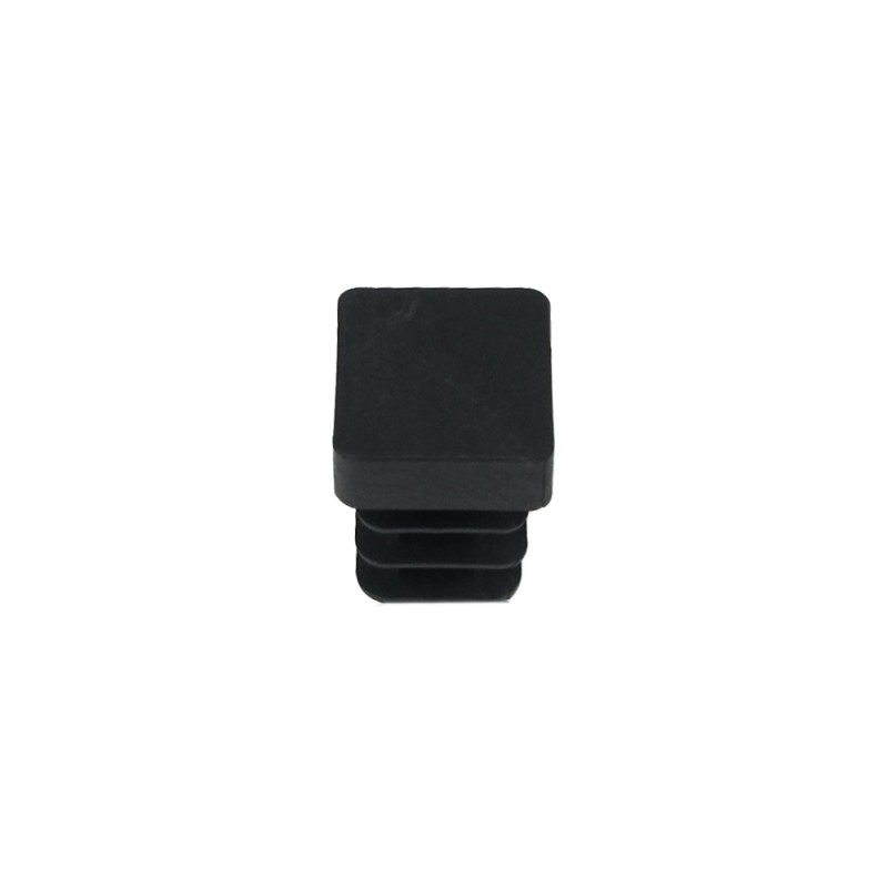 Cone Square Black 12x12mm. Blister 4 PCs.