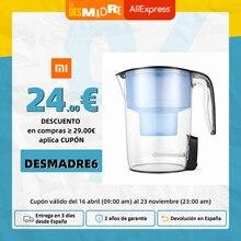 -Garantía Plaza- Jarra con filtros de agua con múltiples efectos de desinfección UV inteligente de Xiaomi youpin - Negro