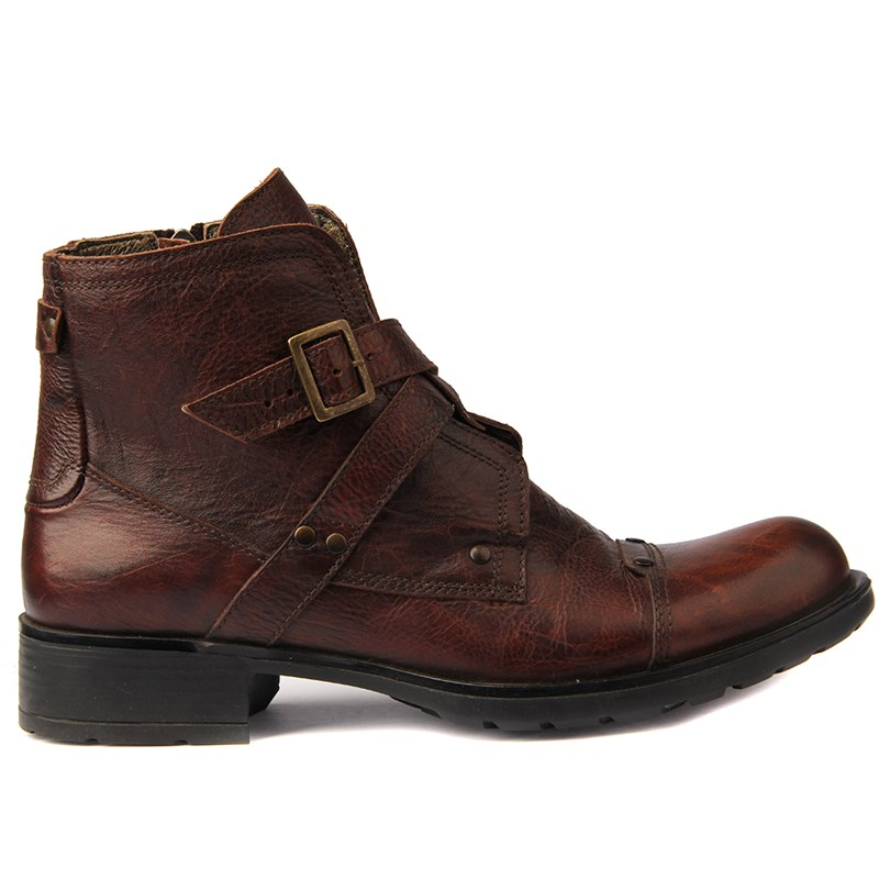 Sail-Lakers Men Leather Boots