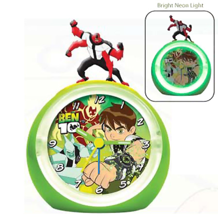 Ben 10 Alarm Clock Plastic And Metal