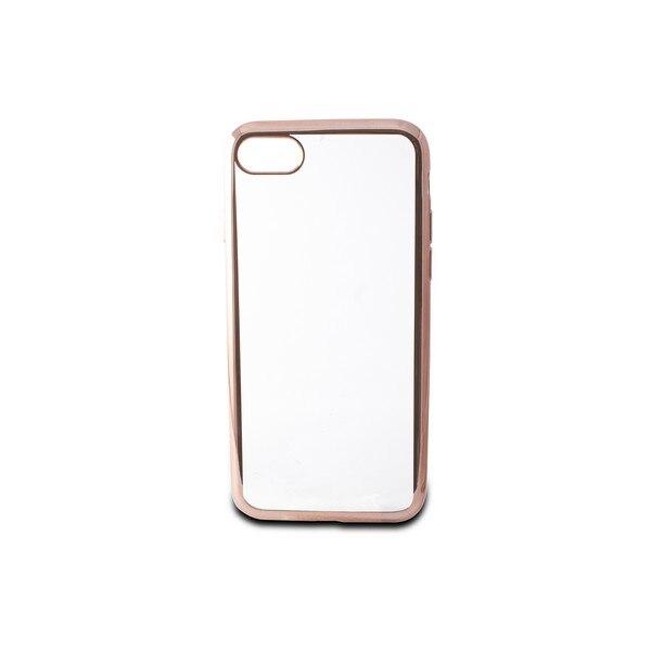 Mobile cover Iphone 7/8 Contact Flex Metal TPU Transparent Rose gold Metallic|  - title=