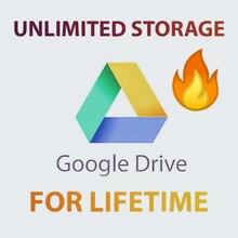 Google Drive stockage illimité avec votre Gmail personnel