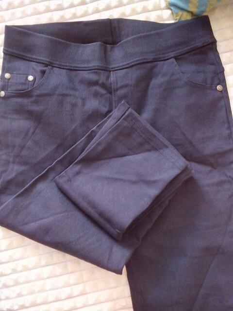 Winter Plus Size 6Xl Leggings Women Pants Black Punk Thick Jeggings Fashion High Waist Legging Trousers photo review