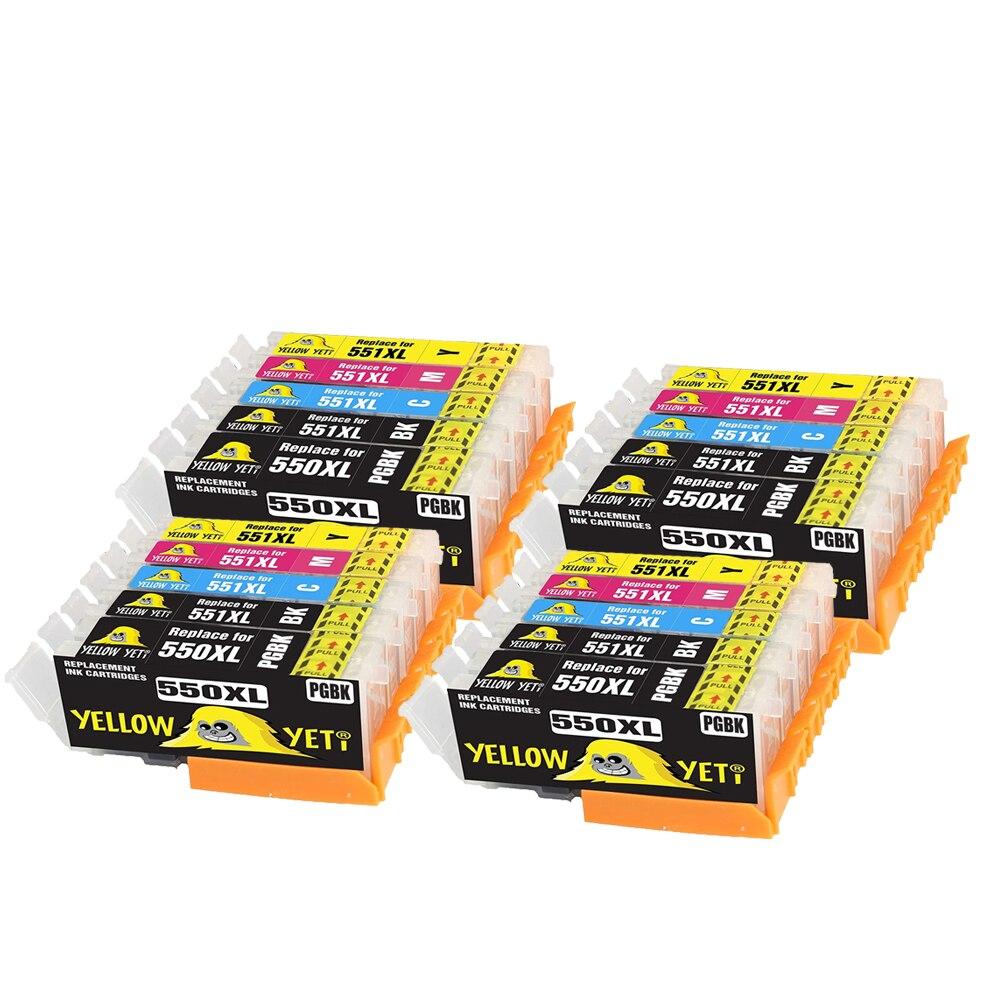 Совместимый чернильный картридж PGI550 CLI551 для canon Pixma ip7200 iP7250 MX925 MG6650 MG6600 IP8750 MG5450 принтер PGI 550 CLI 51