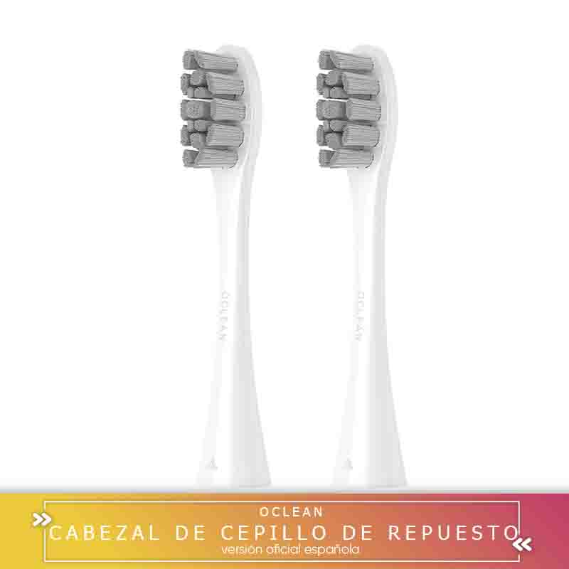 -Square's Warranty-Head's Brush Replacement Oclean PW01 For Z1/X/BE/Air/ One Brush Xiaomi Youpin 2 PCs-White