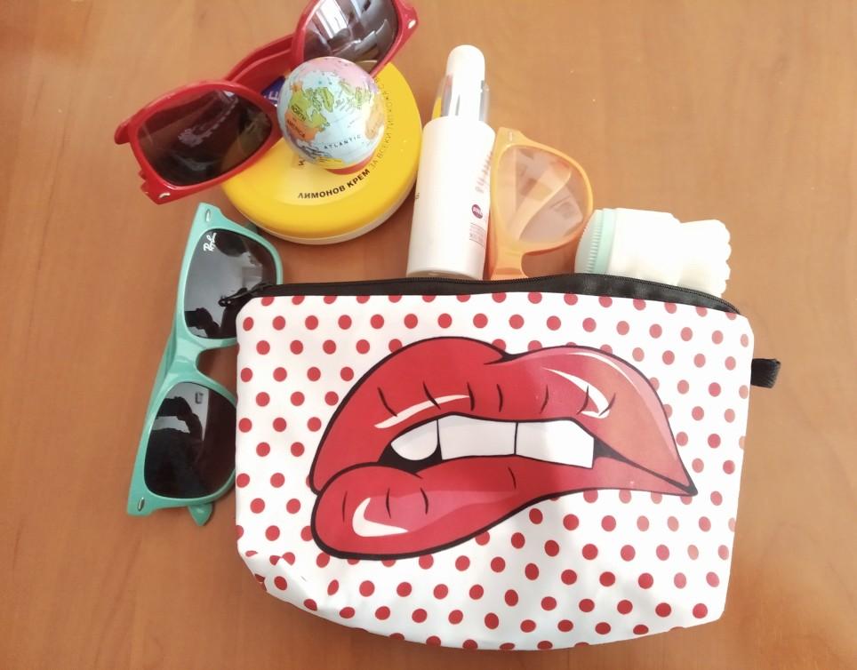 Pochette Maquillage Bouche