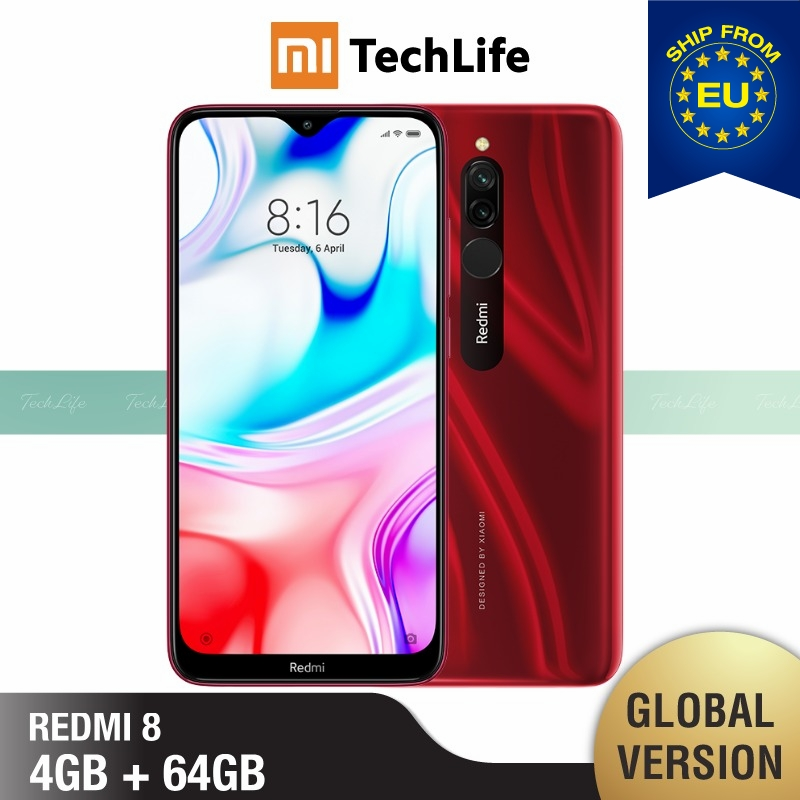Global Version Xiaomi Redmi 8 64GB ROM 4GB RAM (Brand New / Sealed) Redmi 8, Redmi8