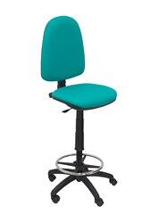 Stołek ergonomiczny z mechanizmem stałego kontaktu z domem  możliwość przyciemniania na dużej wysokości i podnóżki do siedzenia i oparcia