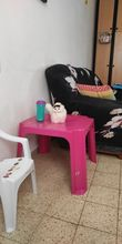 The cat is small, cute, there is a button when you press which it miuts .. The goods are n
