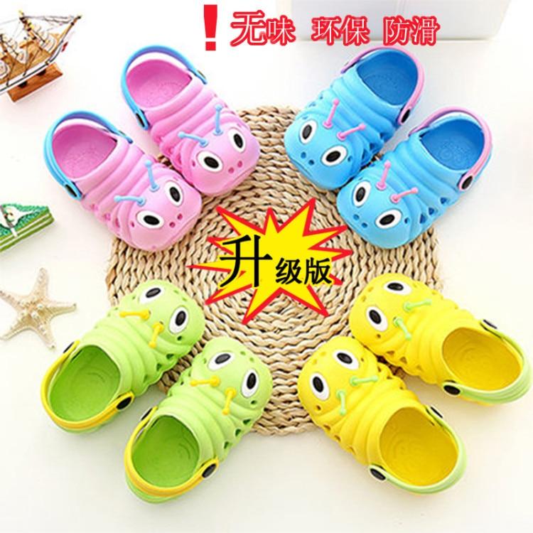 Милые детские Нескользящие сандалии EVA; тапочки