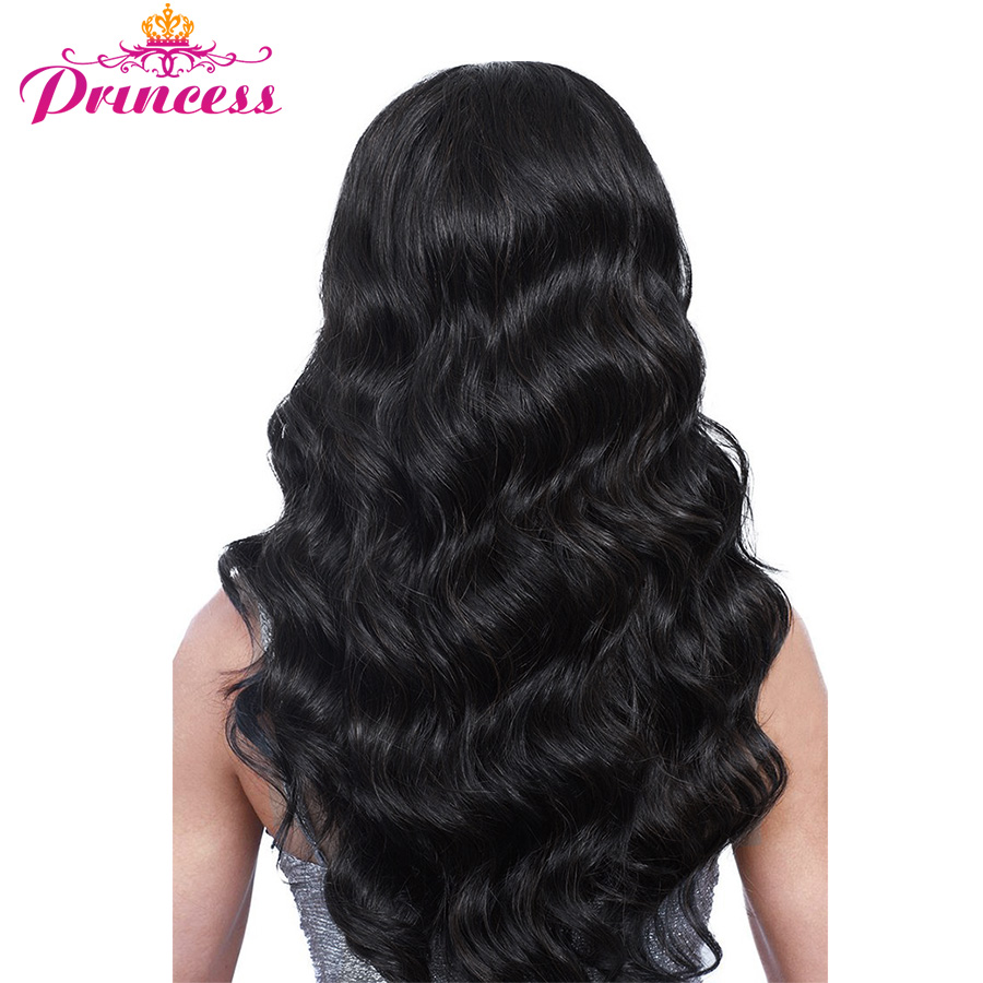 Hair-Extensions Bundles Weave Princess-Hair Body-Wave Beautiful Peruvian Non-Remy Natural-Color title=