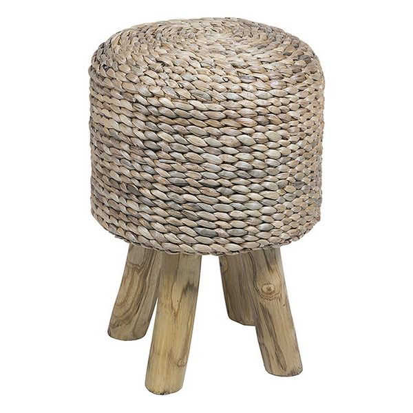 Stool (35 X 35 X 49 Cm) Natural Fibre