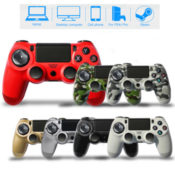 WUIYBN Wireless PS4 Controller Bluetooth Gamepad Joystick For DualShock 4 PlayStation4 Pro/Slim/PC/Android/IOS/iPad