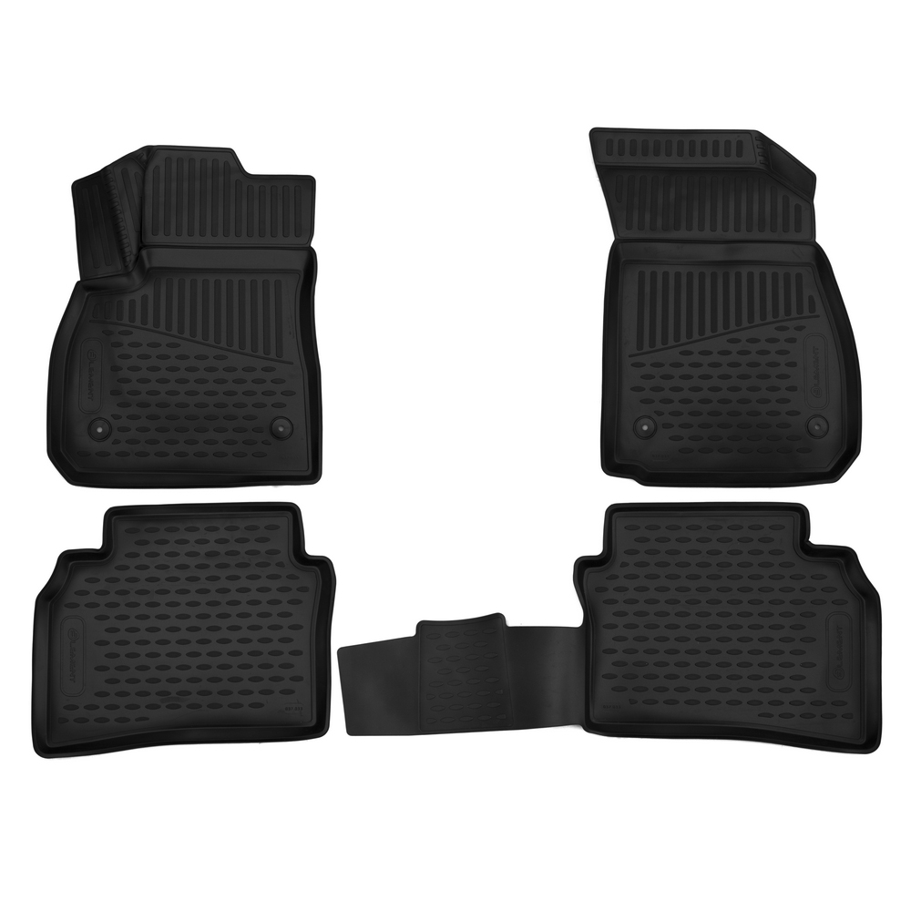 3D Mats In The Interior For OPEL Insignia 2017, Sedan, Europe, 4 PCs ELEMENT3D3733210k