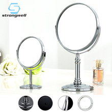 Strongwell 360 Degreerevolving Makeup Mirror Stand for Stainless Steel Magnifying Glass Small