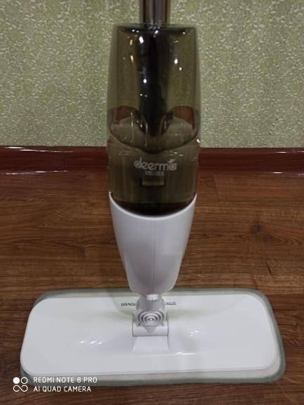 The Xiaomi Deerma Spraying Water Sweeper Mijia Half The Carbon Fiber Brush To Wipe Dust 360 Rotating Shaft 350 Ml Wax Mop Tank|Vacuum Cleaners|   - AliExpress