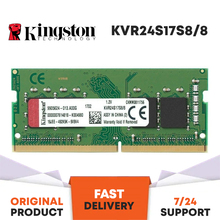 KINGSTON 2400MHz 8GB DDR4 NOTEBOOK RAM KVR24S17S8/8