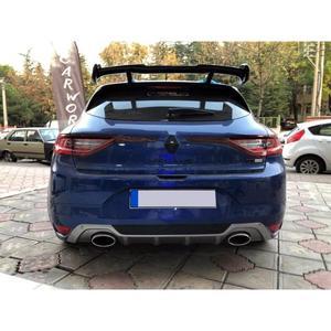 Para Renault Megane 4 Renault Megane 4 Hatchback Spoiler negro Piano 2016 +
