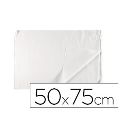 SILK PAPER LEADERPAPER WHITE 17G/M2 ROLL OF 24 SHEETS 50X75CM