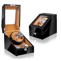 Watch Winder (1 motor 2 relojes)   Black-Bronw