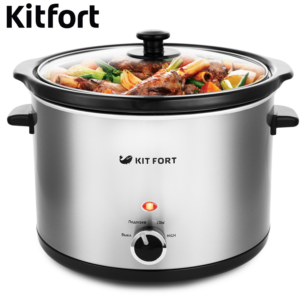 купить Slow cooker Kitfort KT-209 kitchen appliances cooking недорого