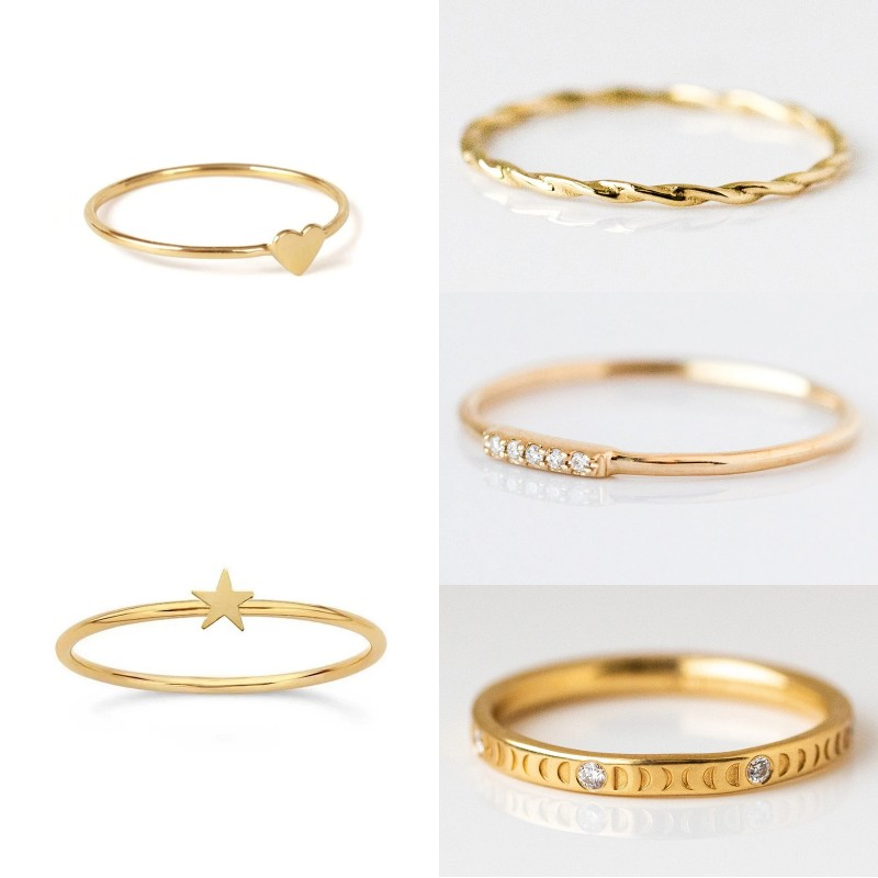 Women Trendy Luxury 925 Sterling Silver Minimalist Punk Finger Rings For Engagement Anniversary Birthday Party Gift Fine Jewelry 1