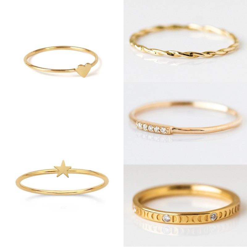 Femmes à la mode luxe 925 en argent Sterling minimaliste Punk bagues pour fiançailles anniversaire fête danniversaire cadeau bijoux fins