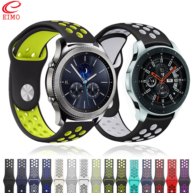 Galaxy Watch 46mm For Samsung Gear S3 Frontier Sport S2 Galaxy Watch 42mm Amazfit Bip Grt Huawei Watch GT Strap 22mm Watch Band