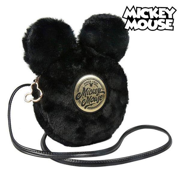 Shoulder Bag Mickey Mouse Black