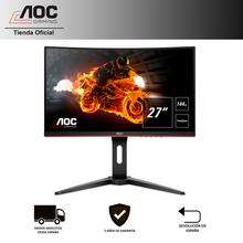 "Monitor PC gaming AOC C27G1 de 27"" Full HD (1.920x1.080) VA, 16:9, 3000:1, 250cd/m, 1ms, 144Hz, 178º, FreeSync, Flicker Free"