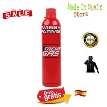 GAS cylinder SWISS ARMS EXTREME GAS 600 ML high pressure with SILICONE oil embodied 603506 AIRSOFT CYBERGUN