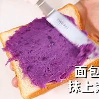 紫薯三明治的做法,小兔奔跑轻食简餐教程的做法图解7