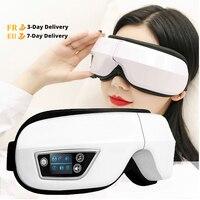 DIOZO-مدلك العين بضغط الهواء ، قناع العين مع ضغط الهواء ، بلوتوث ، لتخفيف التعب ، استرخاء العين ، قابل لإعادة الشحن