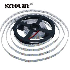 Image 1 - SZYOUMY 100 מטר\חבילה 5630 SMD LED הרצועה שאינה עמיד למים או עמיד למים גמיש רצועת Led אור DC 12V 60 נוריות/M 5 M/Roll