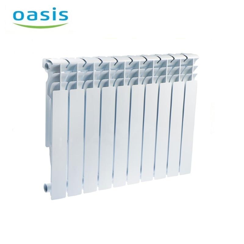 004 Radiator aluminum cast Oasis 500/80/10  air heater heating elements household radiator home energy saving 004 bimetal radiator oasis 500 80 6 electric heater air heater heating elements household radiator home energy saving