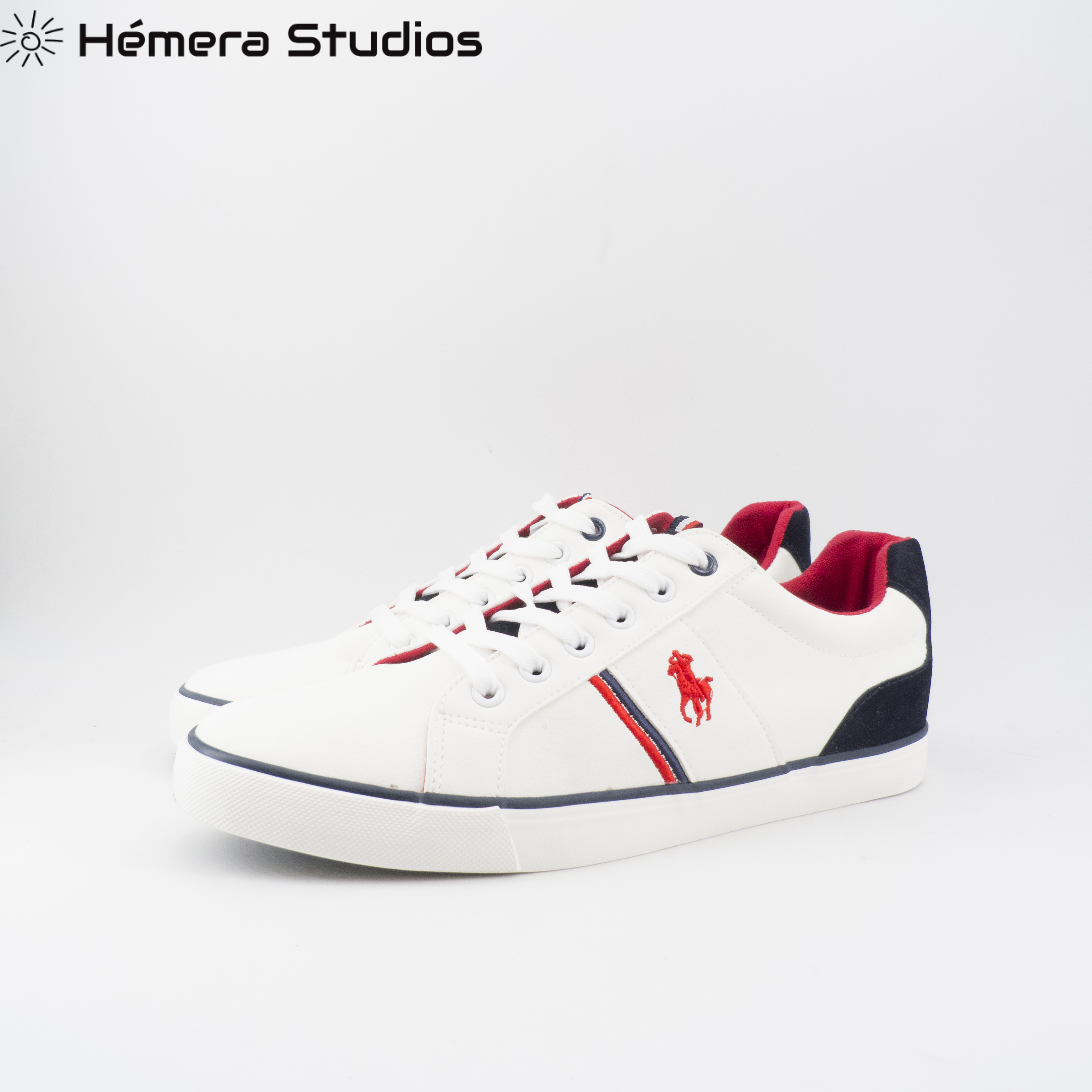 Man Shoes Shoes Comfortable Casual Shoes For Men Footwear Men Shoes With Laces In White And Navy Blue
