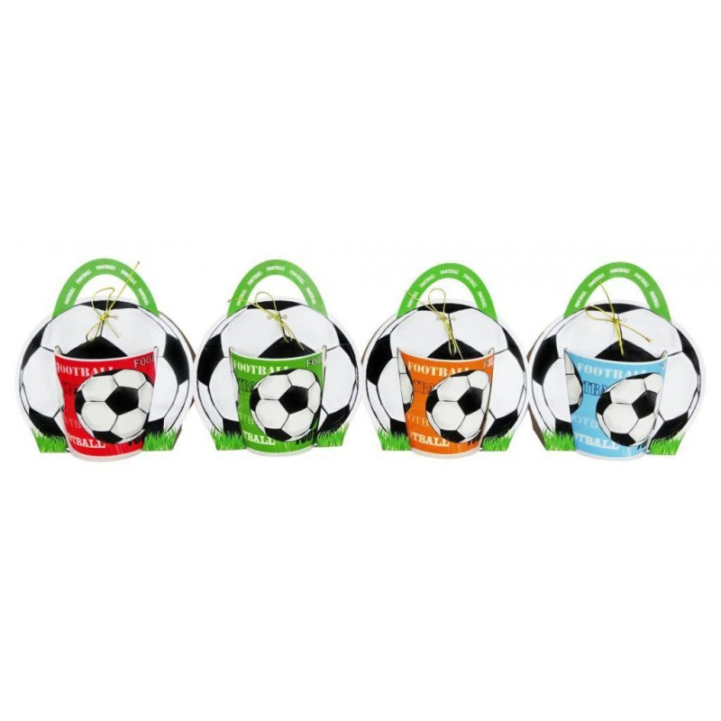 CUP FOOTBALL IN BAG GIFT-details And Gifts For Weddings, Christening Memories And Fellowship For Guests
