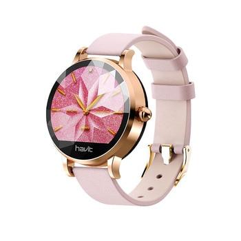 Havit Reloj Inteligente mujer Deportivo fitness cardiaco/Presión arterial/ recibir  whatsapp/ llamadas H1105