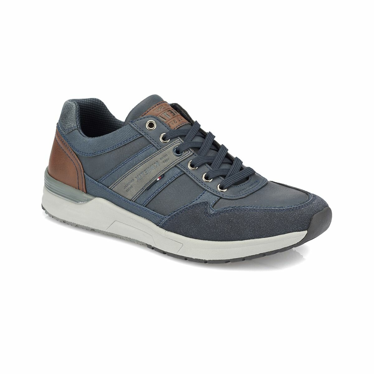 FLO ALF Navy Blue Men 'S Sneaker Shoes KINETIX