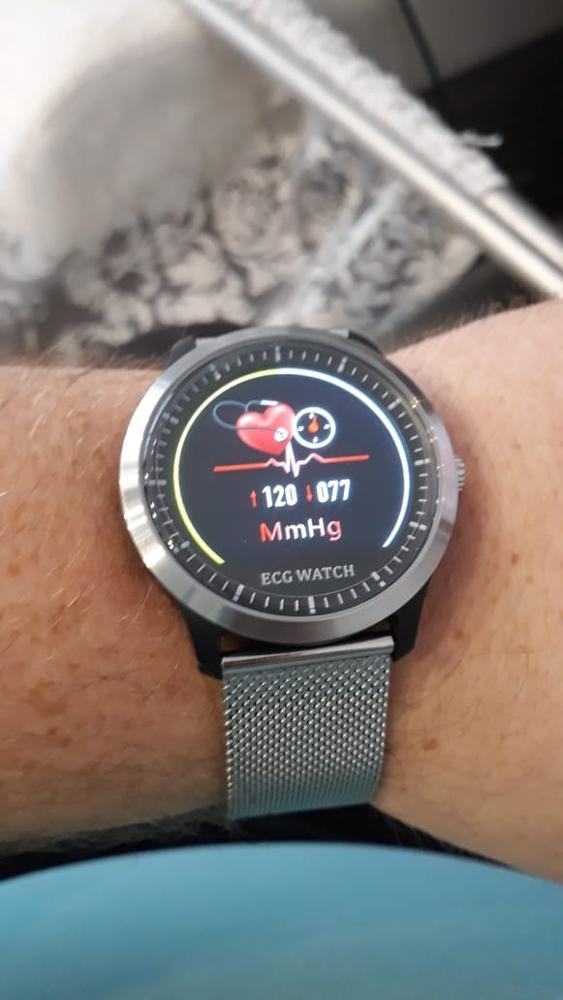LEMFO N58 2020 New ECG + PPG Smart Watch Men IP67 Waterproof Sport Watch Heart Rate Monitor Blood Pressure Smartwatch Smart Watches    - AliExpress