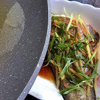 #太太乐鲜鸡汁芝麻香油#清蒸龙舌鱼的做法图解7