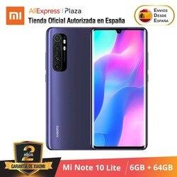 Global Versión Xiaomi Mi Note 10 Lite (64GB ROM con 6GB RAM Snapdragon™ 730G Nuevo Móvil) [Teléfono Versión Global para España] note10lite