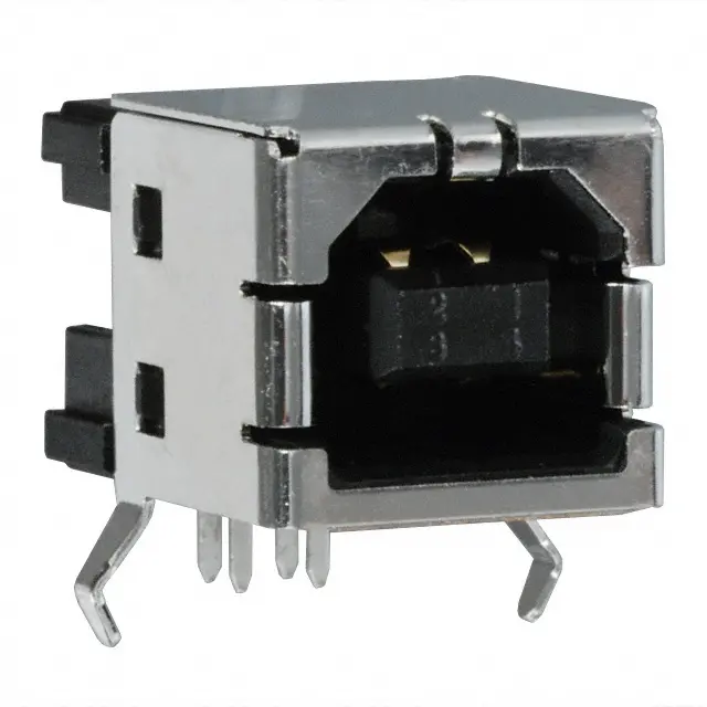 292304-1 - USB - B USB 2.0 Receptacle Connector 4 Position Through Hole, Right Angle
