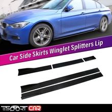 Car-Side-Skirts Splitters Winglet Esportcar Universal for All-Cars 6PCS Extensions Lip