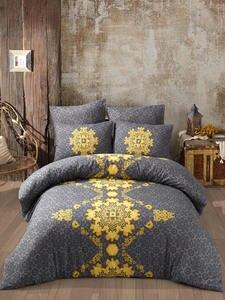 Ladymoda Bedding-Set Duvet-Cover-Set Bed-Sheet Cotton-Set Luxury Saltanat Ranforce Twin/Full/queen/king-size