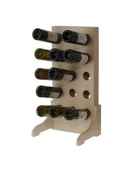 Botellero 15 botellas en Madera Blanca недорого